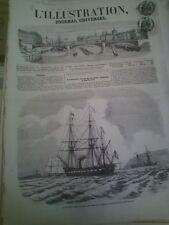 L'illustration n°688 3 mai 1856 corvette duchayla mosquée haacoum carroussel