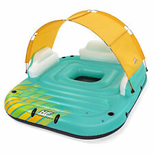 Bestway 43407E Hydro Force Sunny 5 Person Inflatable Floating Island Lounge Raft