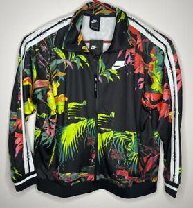 Nike Men's NSW Sportswear Floral Print Track Jacket AR1611-389 Size Large NWT