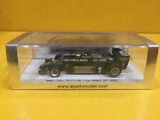 Spark S1851 - Team Lotus 79 - GP Long Beach 1979 Mario Andretti