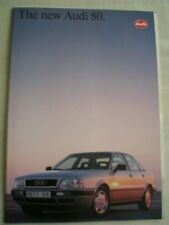 Audi 80 Estate range brochure Jan 1993
