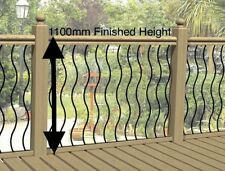 Wrought Iron Patio Steel Fencing Infill Panels. Balustrade and Balcony Railings