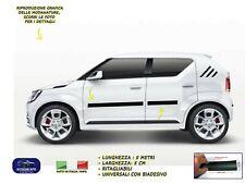 Modanature per Suzuki Ignis esterne laterali gomma adesivi salvaurti laterali