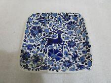 Vintage Handmade Painted Decorative Plate By  Neofitoy Keramik , 14.5 cm
