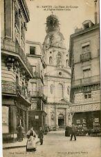 France Nantes - La Place du Change old postcard