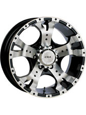CSA WHEEL 16X8 JACKAL BLACK MACHINED (PCD:5X150  OFFSET:0)