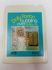 8 Track Tape Dolly Parton Bubbling Over Featuring Traveling Man