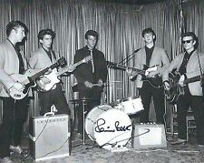 PETE BEST SIGNED THE BEATLES 8x10 PHOTO - UACC & AFTAL RD AUTOGRAPH