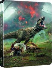 Jurassic World: Fallen Kingdom Steelbook / Blu Ray/ Import / Region Free Blu Ray