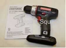 """NEW CRAFTSMAN C3 19.2v VOLT LITHIUM-ION COMPACT 1/2"""" CORDLESS DRILL 5275.1"""