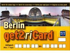 1 Woche Berlin zu zweit zum halben Preis mit get2Card EDITION 2019