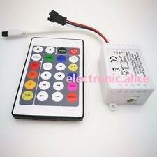 1PCS 12V 24 Key IR Remote Controller For WS2811 LED Strip Light