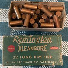 Remington 32 Long Rim Fire - Box only