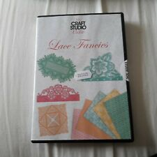 My craft studio Elite cd rom - Lace Fancies