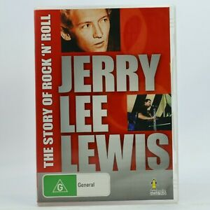 Jerry Lee Lewis The Story Of Rock 'N' Roll DVD 1991 GC