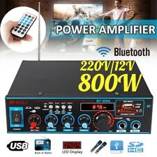 BRAND NEW SEALED LCD Display Audio Stereo Power Amplifier Bluetooth FM Radio Car