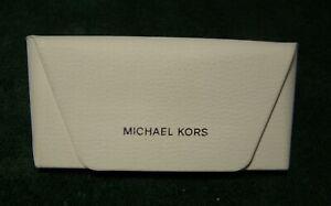 Michael Kors White Sunglasses or Eyeglasses Hard Case