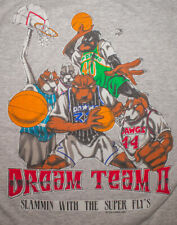 Vtg 90s Top Dawg T Shirt Single Stitch Dream Team Basketball Streetwear Xl Usa