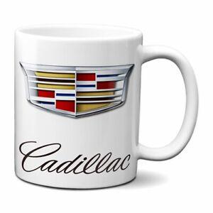 CADILLAC COFFEE MUG 11oz CERAMIC ATS SUV GM CADI