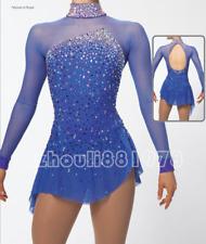 Girls' Ice Skating Dress Spandex Mesh High Elasticity Training Competition