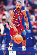 LOT OF 2 POSTERS :NBA BASKETBALL:MICHAEL ADAMS - BULLETS  FREE SHIP #7344  RW4 C