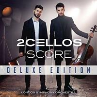 2CELLOS - Score (Deluxe Edition) (NEW CD+DVD)