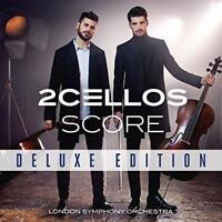 2CELLOS - Score (Deluxe Edition) (NEW CD+DVD)