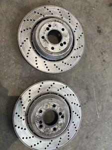 BMW E60 M5 E63 M6 Rear Brake Discs Genuine