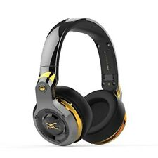 Monster RONALDO ROC Sport Over-Ear Tangle-Free Wired Headphones - Black Platinum