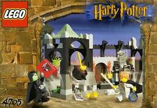 LEGO HARRY POTTER SNAPE'S CLASS 4705 SNAPE, RON, PEEVES, 100% COMPLETE GUARANTEE