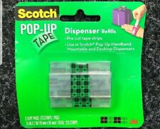 1 Pack Scotch Pop-Up Tape Refills 3/4 x 2 Inches 75 Strips a Pad x 3 Pads 99-G