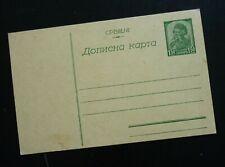 Serbia Unused Stationery Card  C1