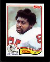 1982 TOPPS #142 JULIUS ADAMS NM PATRIOTS  *X13546