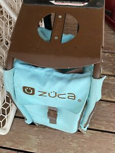 ZUCA WITH SPORTS Look Brown FRAME Sky Blue WITH WHEELS PRE -OWNED