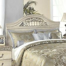Signature Design by Ashley Catalina Queen/Full Panel Headboard Antique White