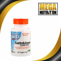 Doctor's Best Nattokinase 90 Veggie caps | Cardiovascular and Circulatory Health