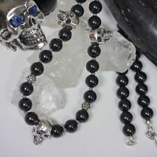 Halsketten und Anhänger mit Saphir runde Echtschmuck