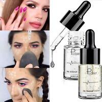 24K Gold Foil Makeup Primer Water Base Oil Control Lip Moisturizer Foundation