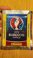 RARE PANINI UEFA EURO 2016 FRANCE SEALED PACKET= 5 STICKERS !!!
