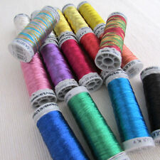 Gutermann Sulky Metallic Thread 200m reel - machine & hand sewing - free UK P&P