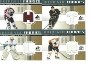 2011-12 UPPER DECK SP GAME USED MILAN HEJDUK GAME USED JERSEY
