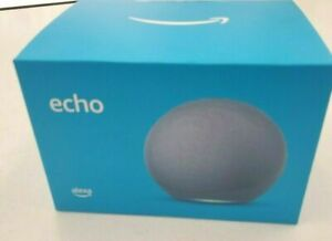 Amazon Big ECHO 4th Gen Smart Home Hub Speaker w/ Alexa Twilight BLUE New Sealed