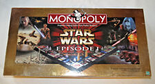 Monopoly Star Wars Episode I Collectors Edition 3-D Game Board Pre Owned