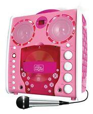 Singing Machine Sml-383 tragbarer CDG Karaoke-player rosa