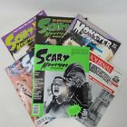 1990s Scary Monsters Magazines Science Fiction Horror Lot Of 6 Halloween MON 01