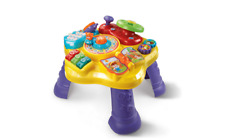 VTech Super Star Baby Learning Play Table Bilingual English Spanish Activity Toy