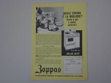 advertising Pubblicità 1958 CUCINA ZOPPAS ML 4/A