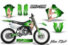 YAMAHA YZ125 YZ 125 2 STROKE 1991-1992 GRAPHICS KIT CREATORX DECALS YRG