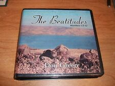 The Beatitudes by Don Green (14 CDs 2005) Christian Peacemaking Glory Grace Life