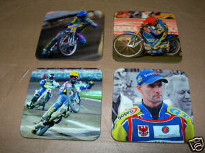 Tomasz Gollob Speedway Legend Drinks Coaster Set